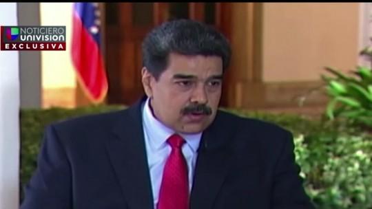 Jornalista recupera entrevista apreendida por Maduro