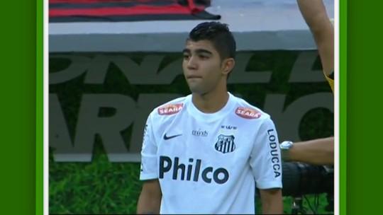Despedida de Neymar, marca na Seleção, gols, dancinha... Relembre as estreias da carreira de Gabigol