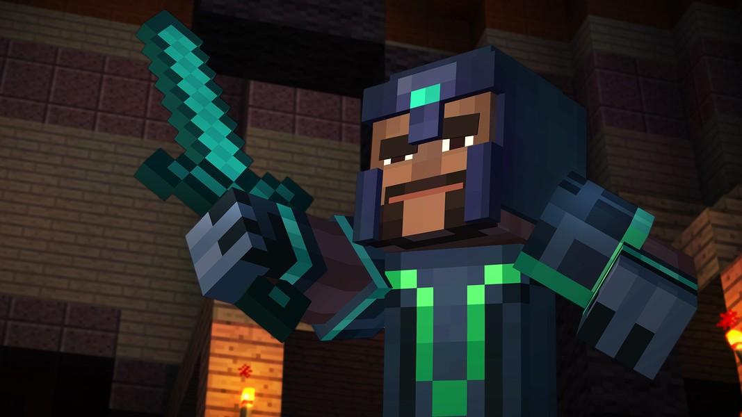 Minecraft story mode jogos download techtudo - Minecraft story mode wallpaper ...