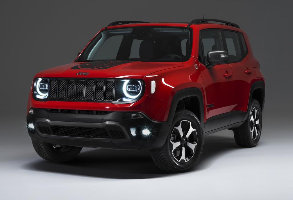Resultado de imagem para Jeep vai vender Renegade e Compass híbridos