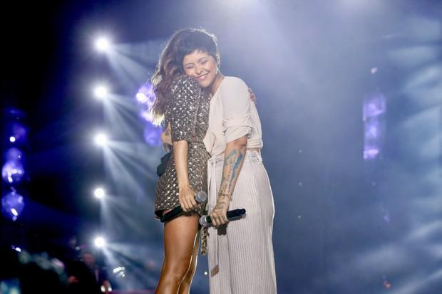 Paula Fernandes e Kell Smith (Foto: Manuela Scarpa/Brazil News)