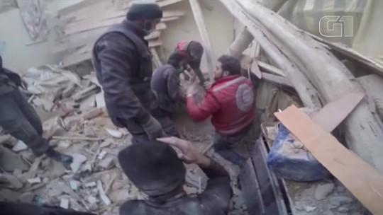 Jovem de Guta Oriental relata nas mídias sociais o drama da guerra na Síria