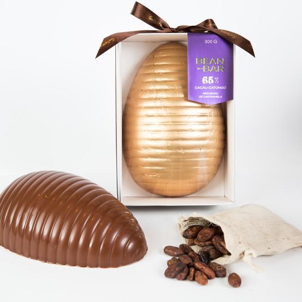 Ovo de Páscoa Bean to Bar, 65% de Chocolate Amargo  (Foto: Divulgação)