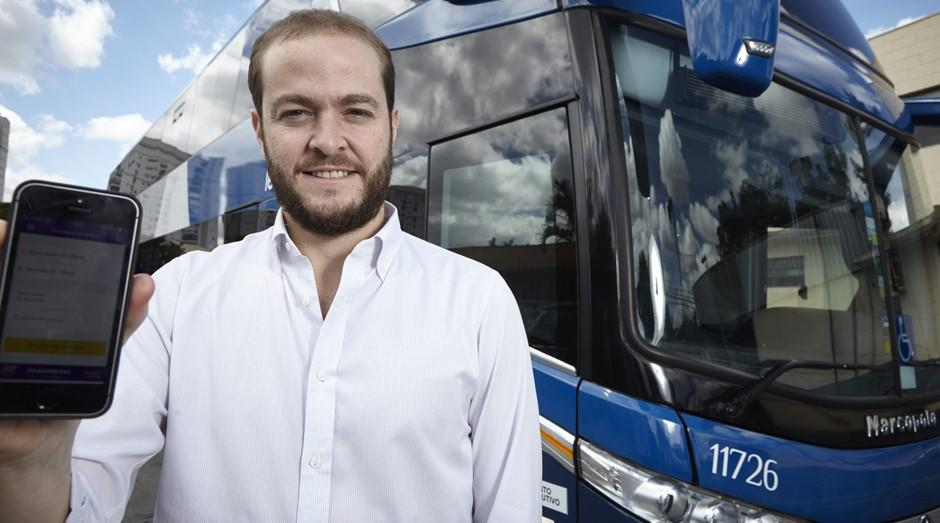 Fernando Prado, CEO e fundador da ClickBus (Foto: Divulgação)