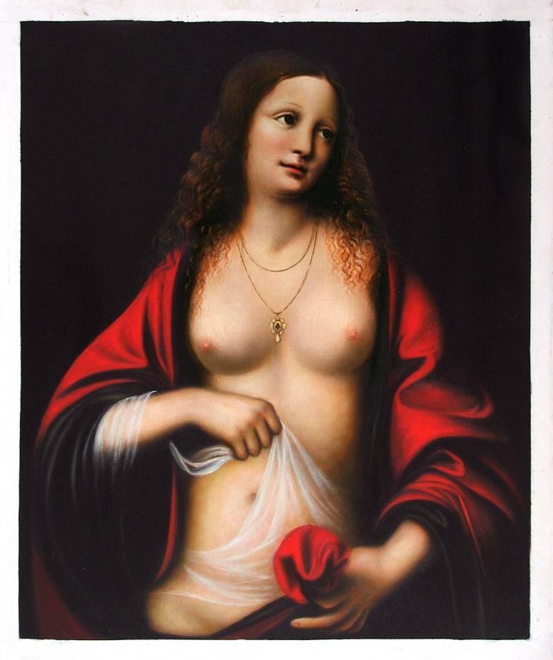 Maria Madalena, obra de Leonardo da Vinci (Foto: Reprodução)