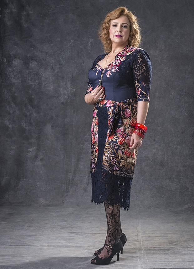 Ana Beatriz Nogueira como Ondina em O Sétimo Guardião (Foto: João Cotta/Globo)