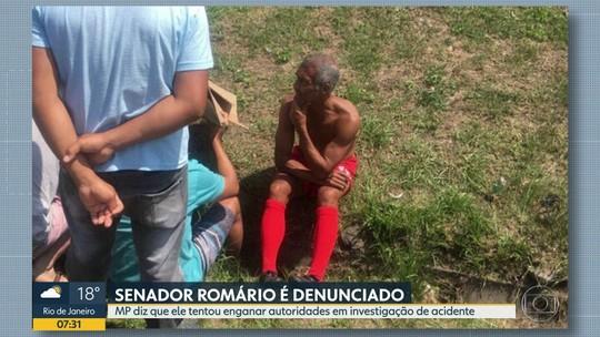 Ministério Público do Rio denuncia Romário à justiça