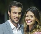 Rafael (Bruno Ferrari) e Kyra (Vitória Strada) | TV Globo