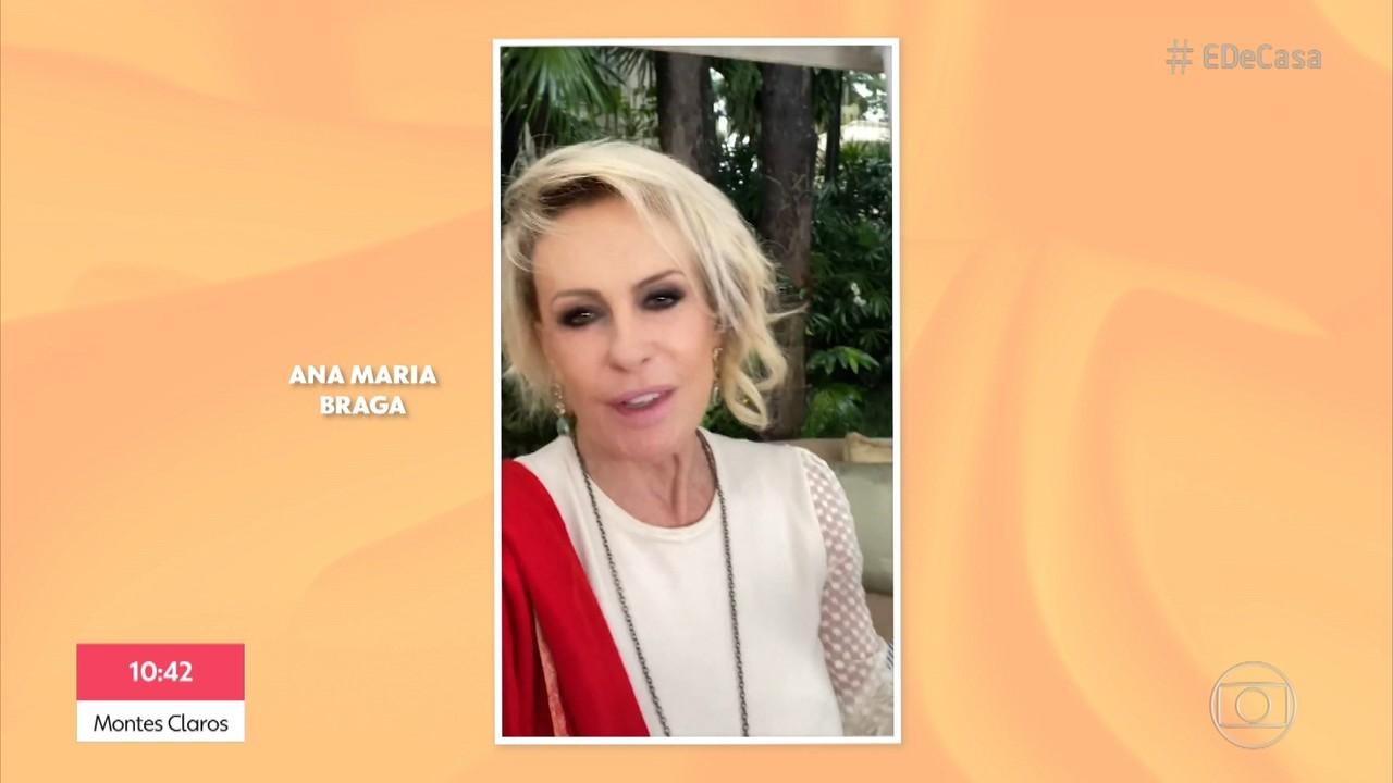 Ana Maria Braga fala sobre o retorno do 'Mais Você'