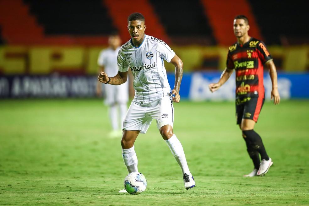 Jean Pyerre é o centro criativo do time — Foto: Lucas Uebel/Divulgação Grêmio