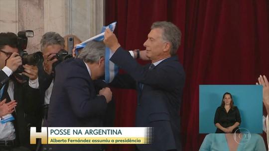 Alberto Fernandez toma posse como novo presidente da Argentina