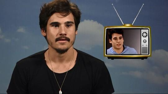 Nicolas Prattes revê primeiro teste na Globo: 'Soube que fui aprovado no meu aniversário'