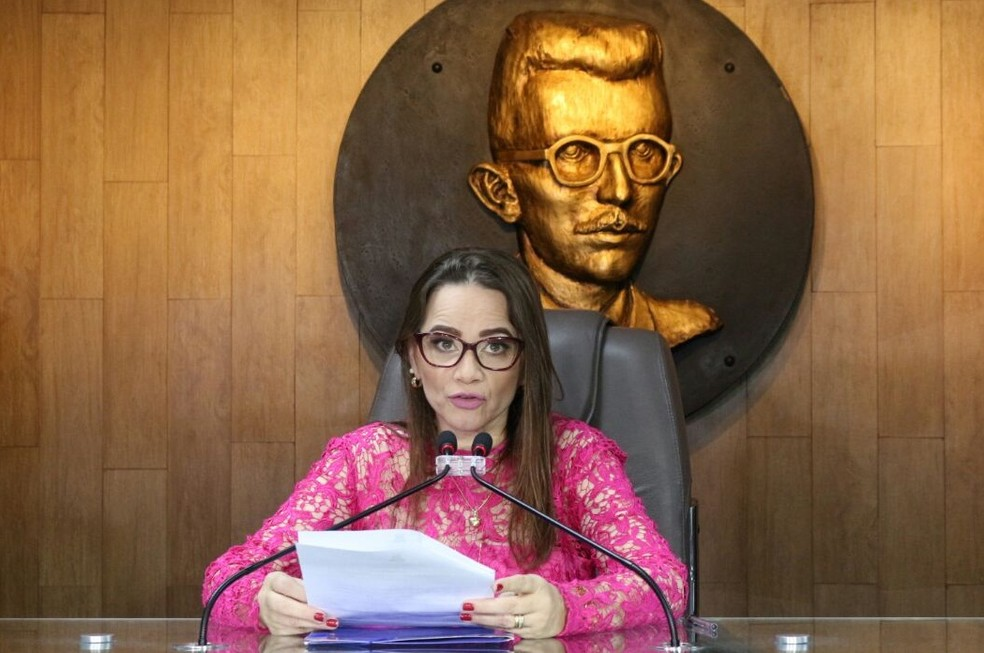 Vereadora Ivonete Ludgério é presidente da Câmara de Campina Grande (Foto: Artur Lira/G1/Arquivo)