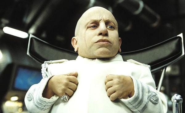 O ator Verne Troyer como Mini-Me (Foto: Reprodução)