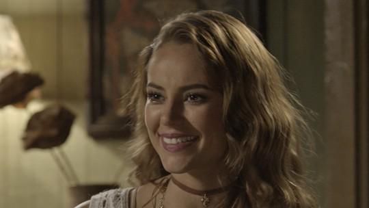 Melissa revela a Felipe que Roberto é o pai de Alex