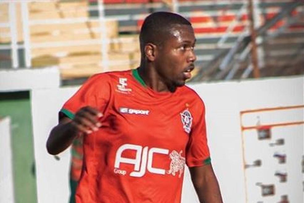 Breno Lucinda não entrou em campo pelo Boa Esporte em 2019 — Foto: Divulgação / Boa Esporte