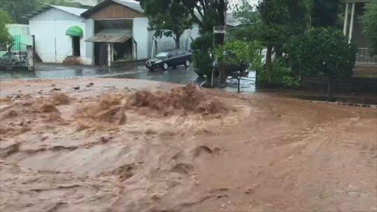 Defesa Civil registra estragos causados por chuva forte em cinco cidades do RS