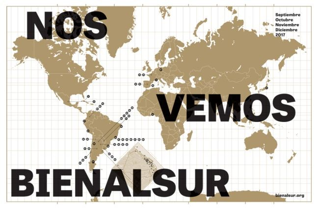 Bienalsur, reescrevendo o mapa das artes (Foto: bienalsur.org)