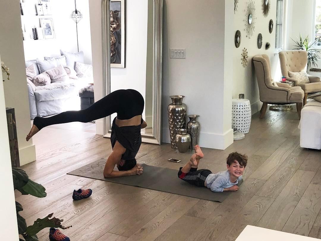 Fernanda Machado se aprofundou na ioga e passou a dar aulas nos Estados Unidos, onde vive atualmente (Foto: Reprodução/Instagram)