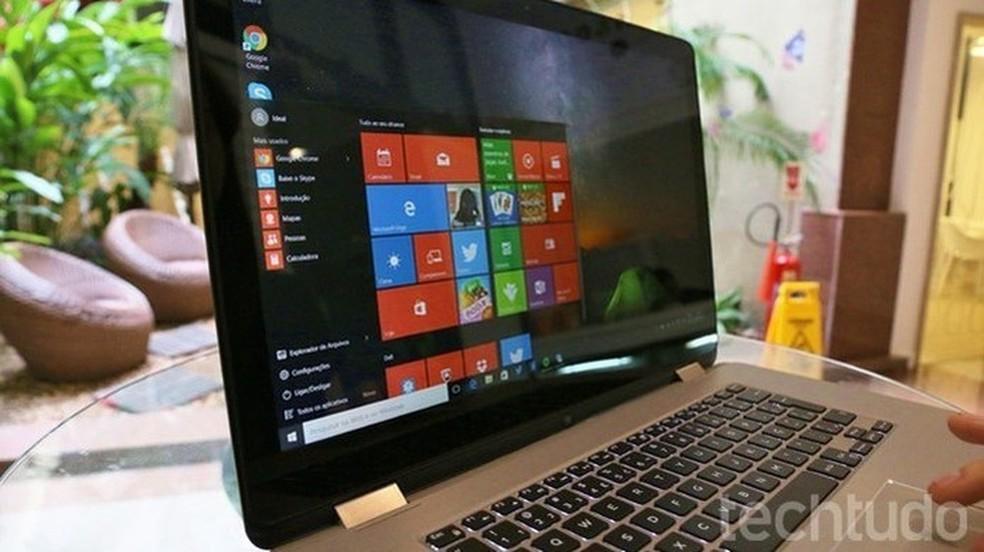 Aprenda a desinstalar a atualização KB4103721  e restaurar o sistema no PC com Windows 10 (Foto: Isabela Giantomaso/TechTudo)