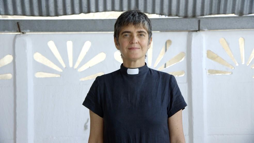 Pastora Lusmarina: 'O Cristo que está sendo utilizado para destruir um terreiro está sendo completamente mal interpretado'  (Foto: Ana Terra/BBC Brasil)