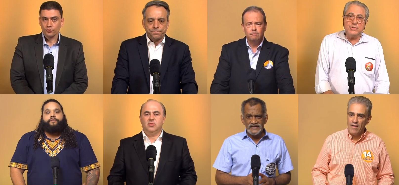 Debate à Prefeitura de Uberlândia reúne oito candidatos