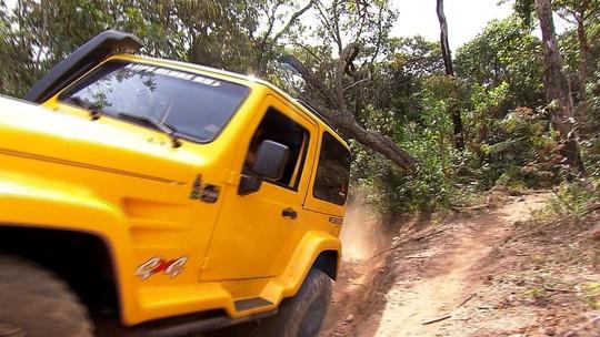 O desafio é enfrentar a trilha até a Serra do Gandarela, na Grande BH