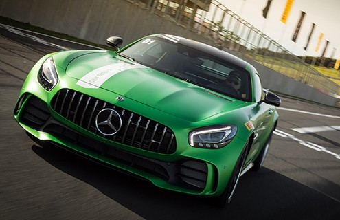 "Mercedes AMG GT R ""Green Hell"""