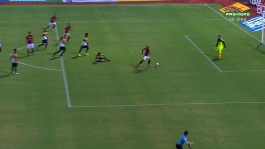 Os gols da vitória do Atlético-GO sobre o Criciúma no Olímpico