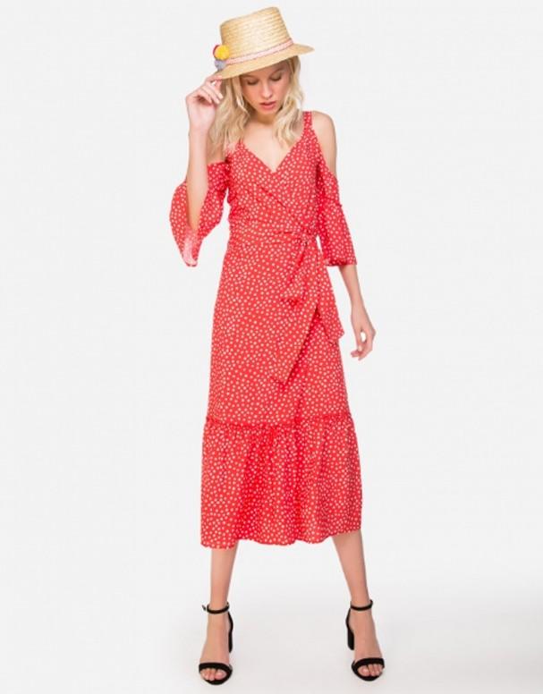 Vestido midi (Foto: Reprodução)