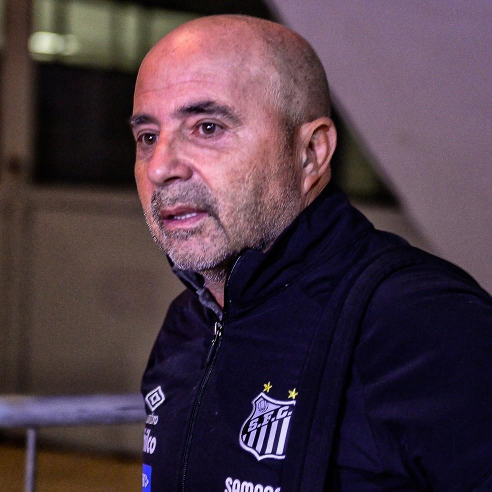 Jorge Sampaoli Santos x Atlético-MG — Foto: Renato Pizzutto/BP Filmes