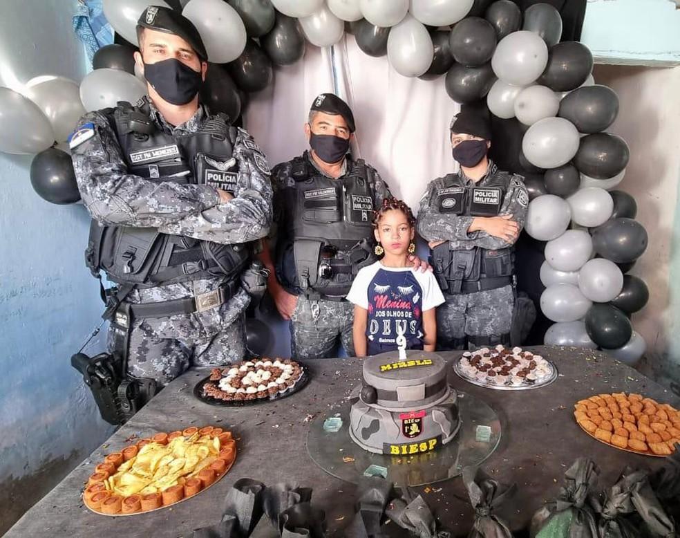 Festa de aniversário com o tema Biesp foi realizada em Santa Cruz do Capibaribe — Foto: Caruaru no Face/Espiaqui/Divulgação