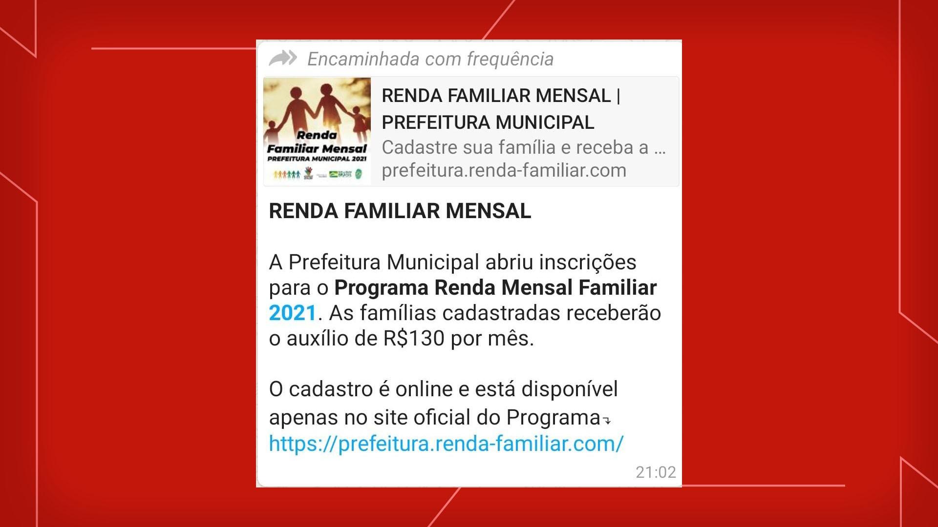 Prefeitura de Canoas alerta para notícia falsa sobre inscrições para programa de benefícios