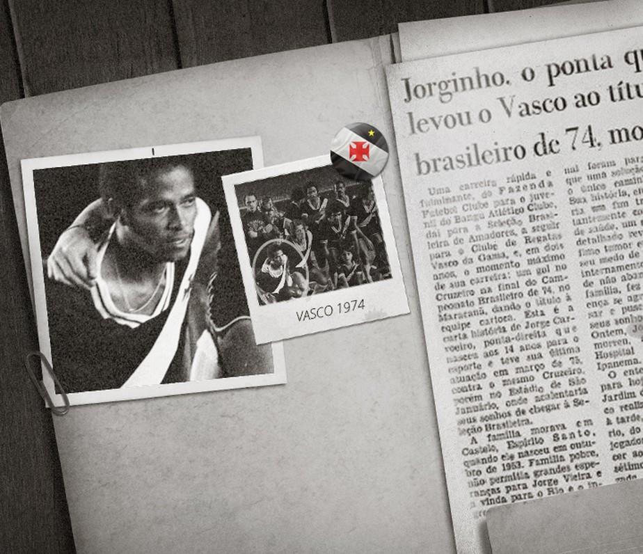 Jorginho Carvoeiro: o herói vascaíno que não pôde aproveitar a glória