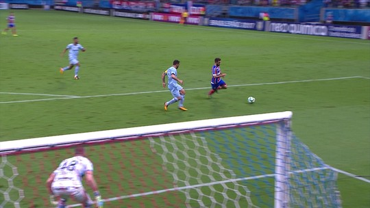 Com pênalti no último minuto, Bahia derrota o Grêmio na Fonte Nova