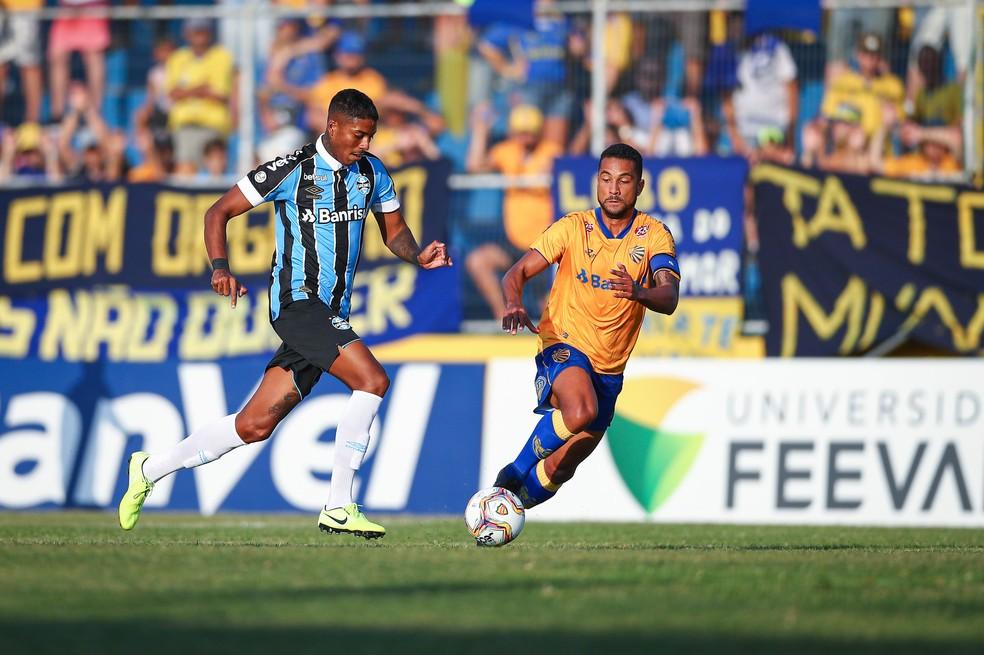 Jean Pyerre, Pelotas 0x1 Grêmio — Foto: Lucas Uebel/DVG/Grêmio
