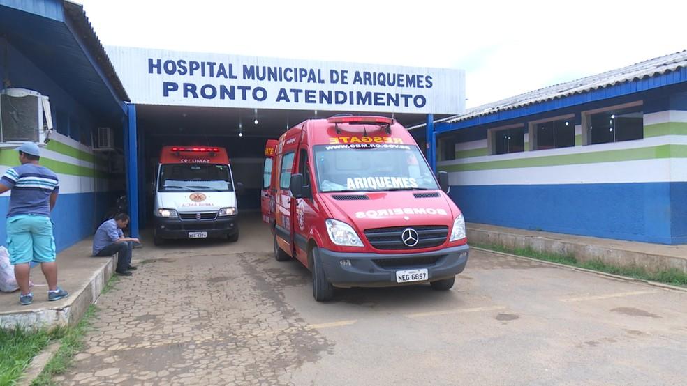 Atendimento errado aconteceu em 2013, em hospital de Ariquemes (Foto: Rede Amazônica/Reprodução)