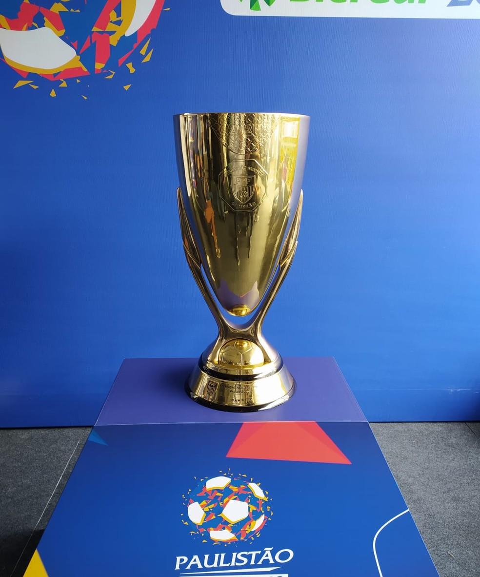 Taça do Paulistão 2020 — Foto: Emilio Botta