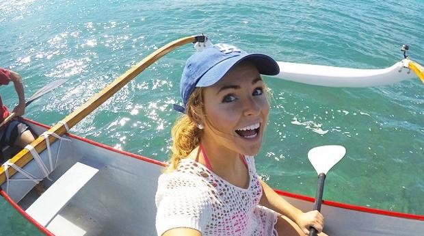 Brooke já passou por cerca de 50 países no último um ano e meio (Foto: Reprodução/Instagram)