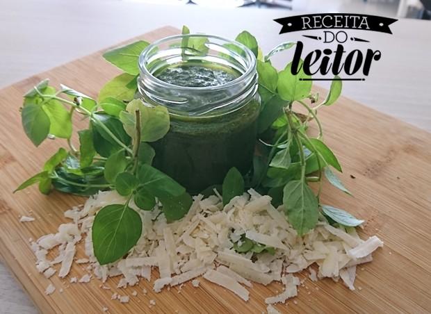 Pesto de Manjericão, receita da leitora Litiara Battiston (Foto: Divulgação )