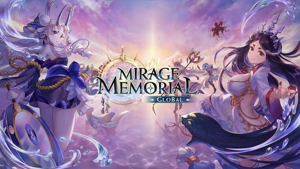 Mirage Memorial Global traz reencarnações femininas de personagens históricos para confrontar Lúcifer, vilão final — Foto: Divulgação/Efun Company