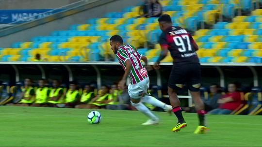Fluminense x Vitória - Campeonato Brasileiro 2018 - globoesporte.com