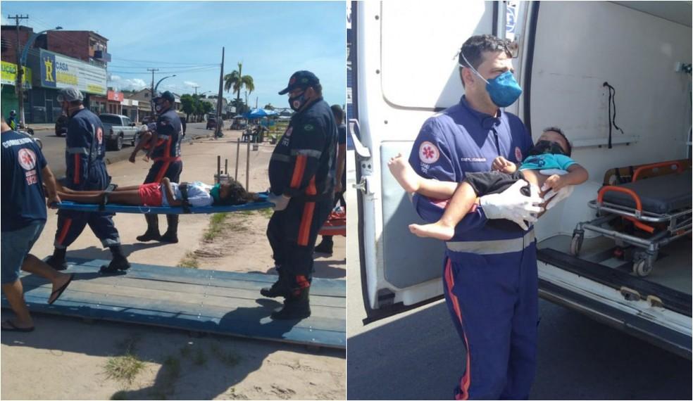 Vítimas de envenenamento por chumbinho tinham 2, 7, 10, 12 e 43 anos — Foto: Jaderson Moreira/TVTapajós