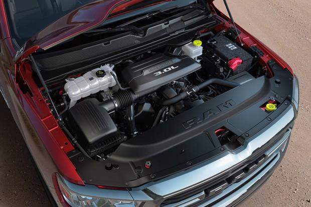 V6 3.0 turbodiesel foi modernizado para andar mais forte e consumir menos (Foto: Divulgação)