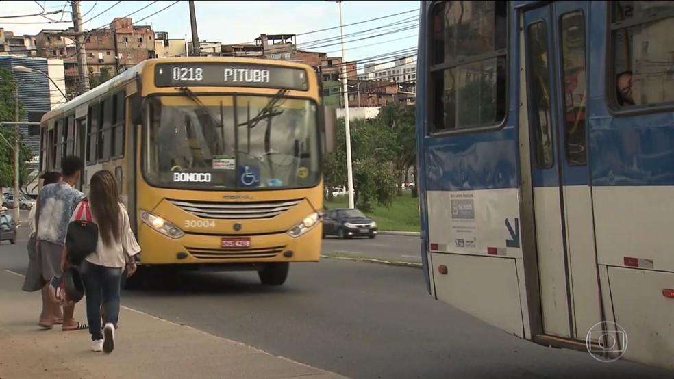 Salvador terá linhas de ônibus reforçadas e serviço de transporte exclusivo durante Copa América. — Foto: Reprodução/TV Globo