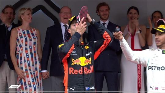 Relembre as quebras de protocolo nos pódios em Mônaco na Fórmula 1