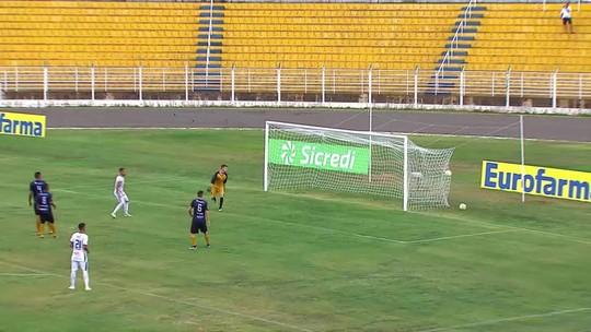 Prêmio Dener: gol de Reginaldo, do Trindade-GO, é o mais bonito da primeira rodada da Copinha