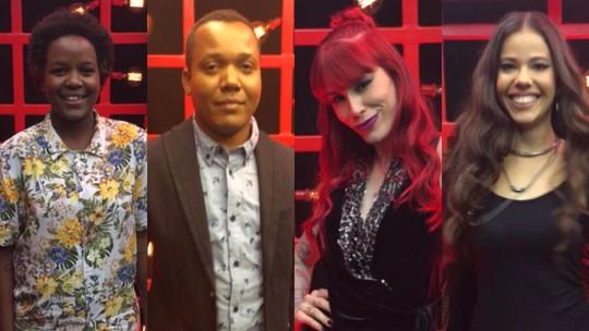 Priscila Tossan, Edson Carlos, Dri e Erica Natuza são salvos pelos técnicos em noite de 'Remix'