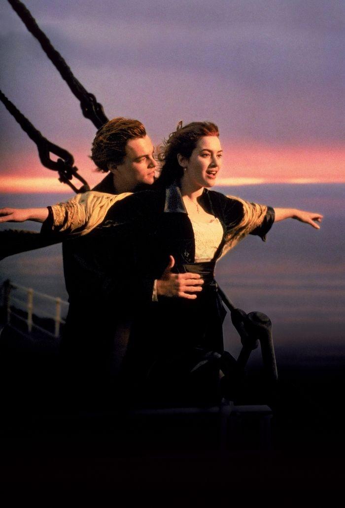 Cena do filme Titanic (Foto: Reprodução)
