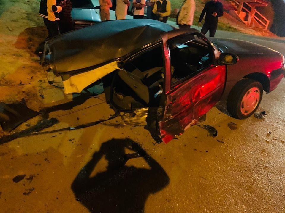 'Deus me deu uma nova chance', diz motorista que saiu ileso com os filhos após ter carro partido ao meio